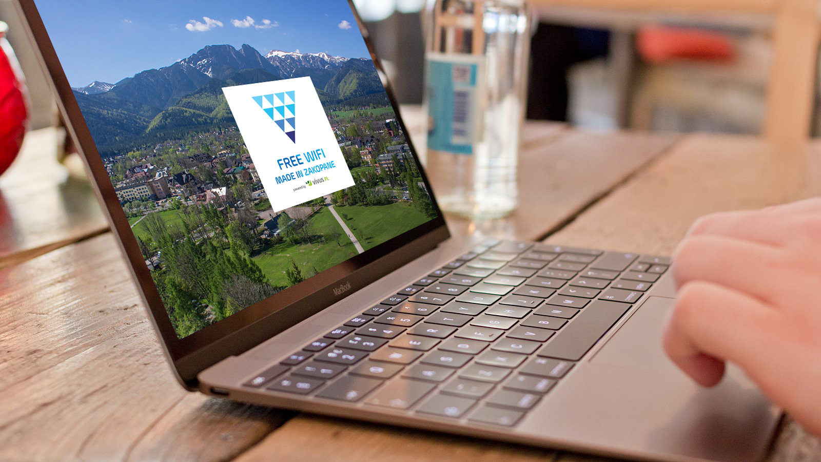 Projekt Free WiFi uruchomiony na Krupówkach