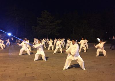 Nocny pokaz Tai Chi