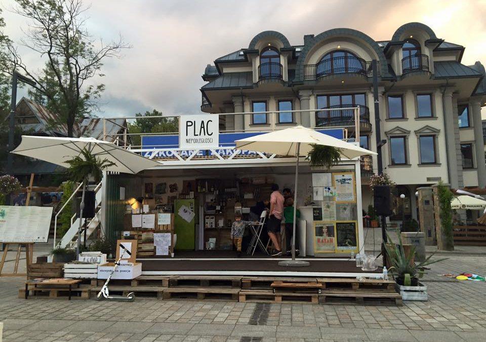 Piąta edycja Open Coffee na Placu Niepodległości!