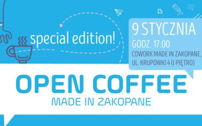 9 stycznia Open Coffee edycja specjalna