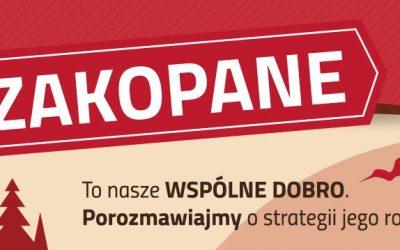 Konsultacje Strategii Rozwoju Miasta Zakopane na lata 2017-2026