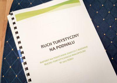 Rapport Ruch Turystyczny na Podhalu
