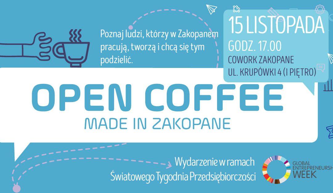 Open Coffee #11: Światowy Tydzień Przedsiębiorczości