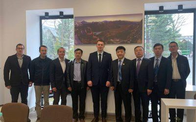 Delegacja z Chin w Zakopanem