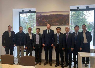 Chińska delegacja w Zakopanem - maj 2019 - 2